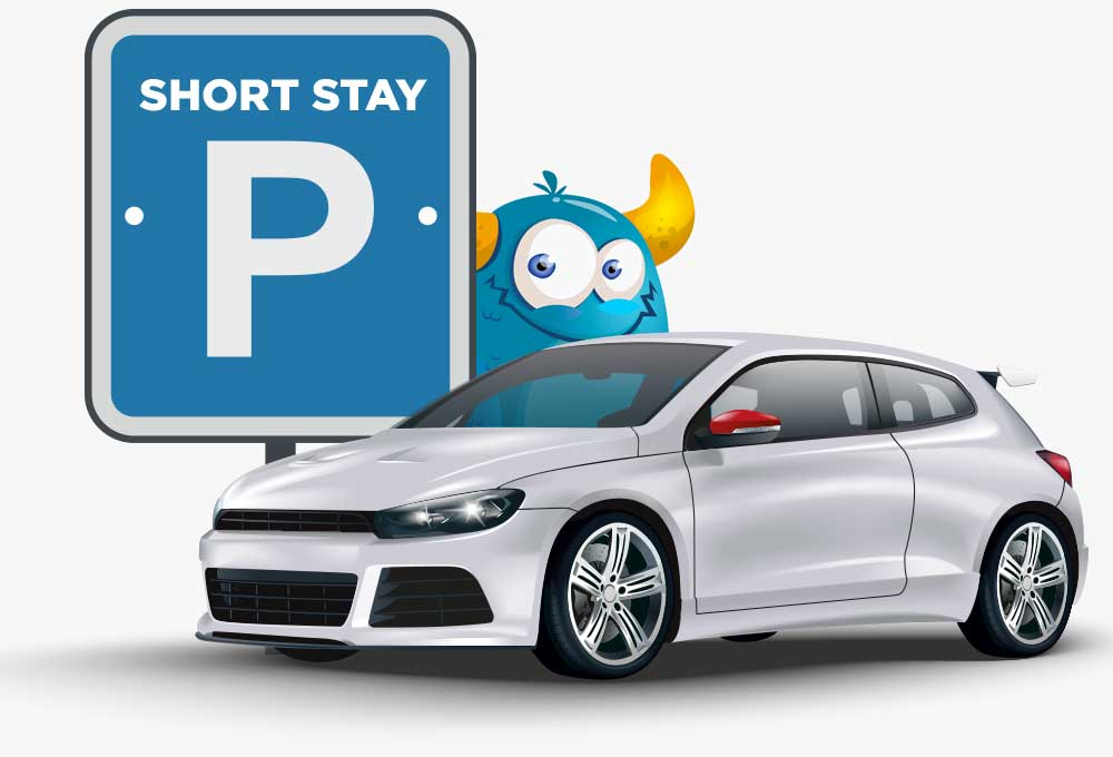 short stay airport parking